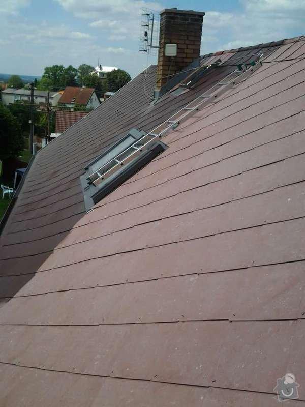 Natření střechy: 1