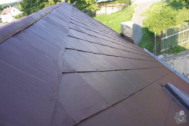Natření střechy: PICT0009