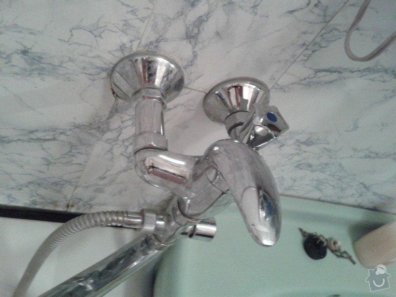 Napojení pračky na vodu: 20130710_145011