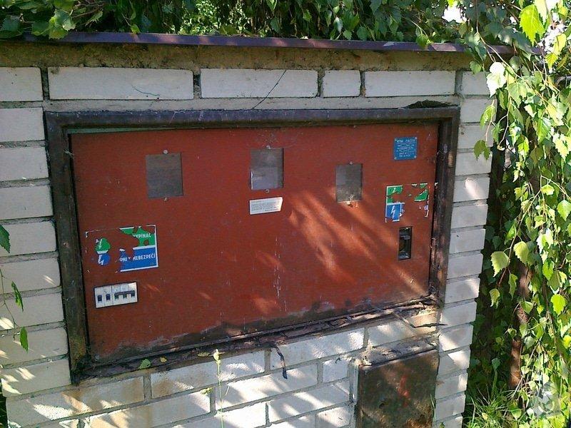 Výměna dveří na rozvaděči: 09072013175