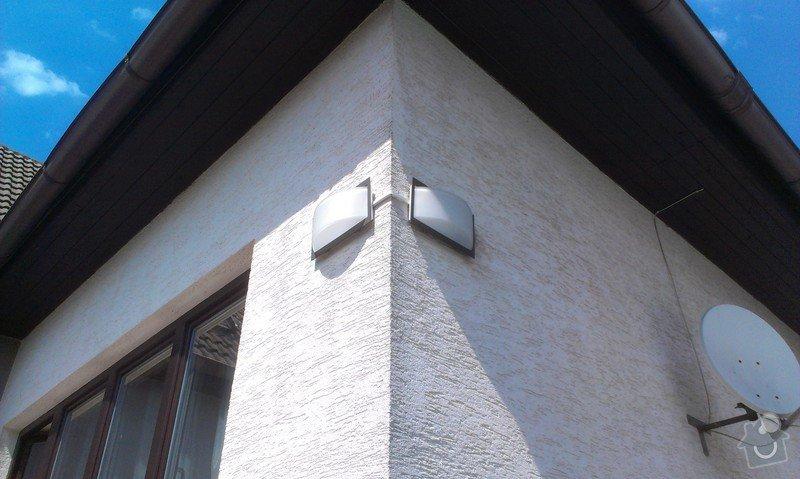 Přidělání venkovního světla nad dveře: IMAG2011