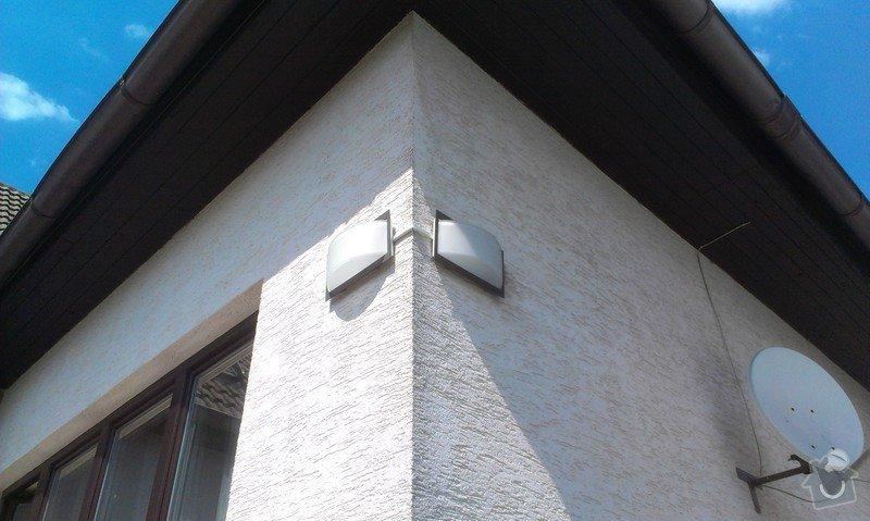 Přidělání venkovního světla nad dveře: IMAG2012