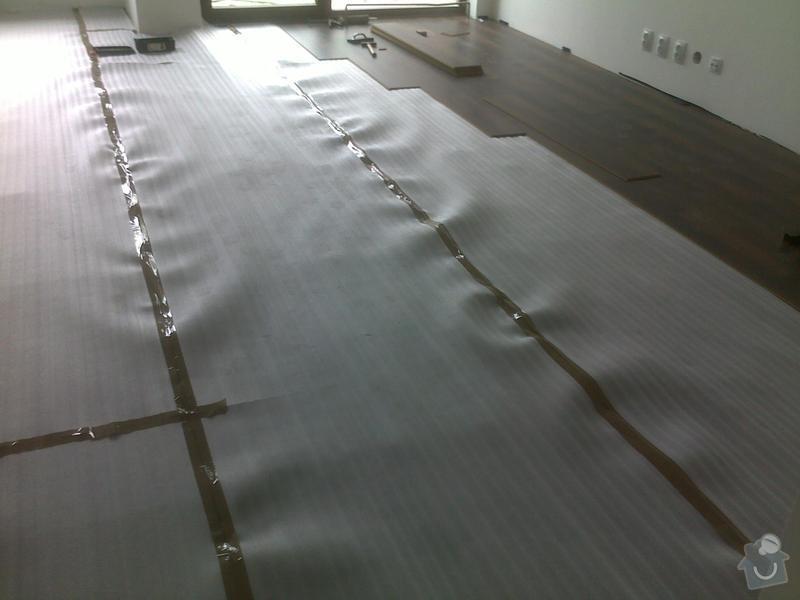 Montáž plovoucí podlahy: 16062013539