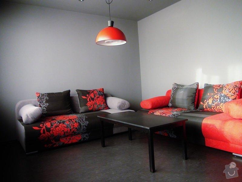 Pokládka vinylové plovoucí podlahy a sádrokartonový podhled se zabudováním světel , výměna žaluzií za jinou barvu : DSC00004
