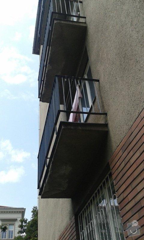 Oprava omítky balkonů: 20130628_123655