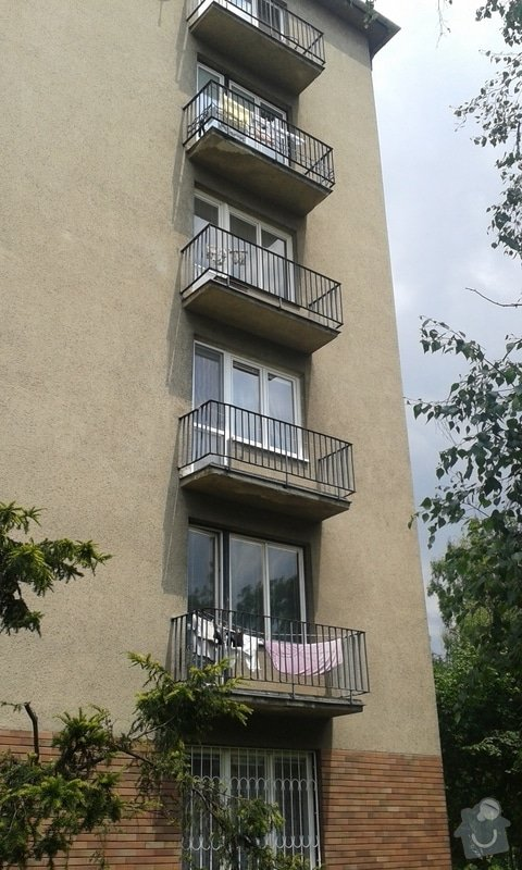 Oprava omítky balkonů: 20130628_123740