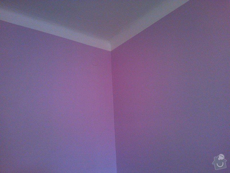Výmalba bytu v barvách: Fialova_vymalba_kuchyne