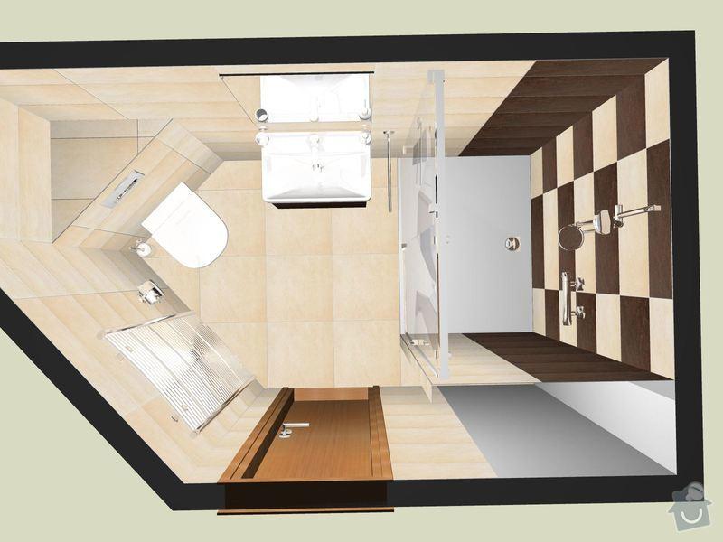 Rekonstrukce koupelny: Bernina_A
