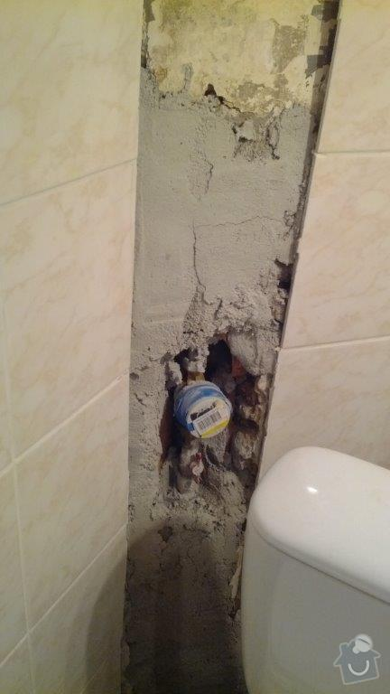 Rekonstrukce koupelny: vodomer