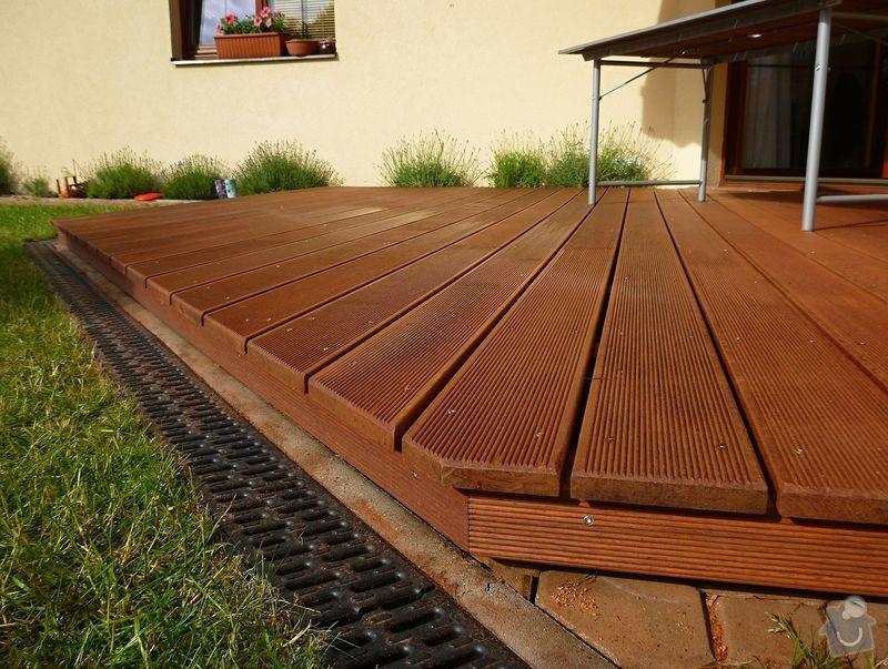 Venkovní terasa z materiálu merbau (Intsia Bijuga): P1020261