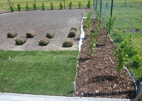 Realizace jednoduché zahrady