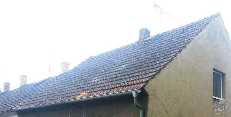 Odborné posouzení stavu střechy, RD v Kladně: 20130706_114110_1.2