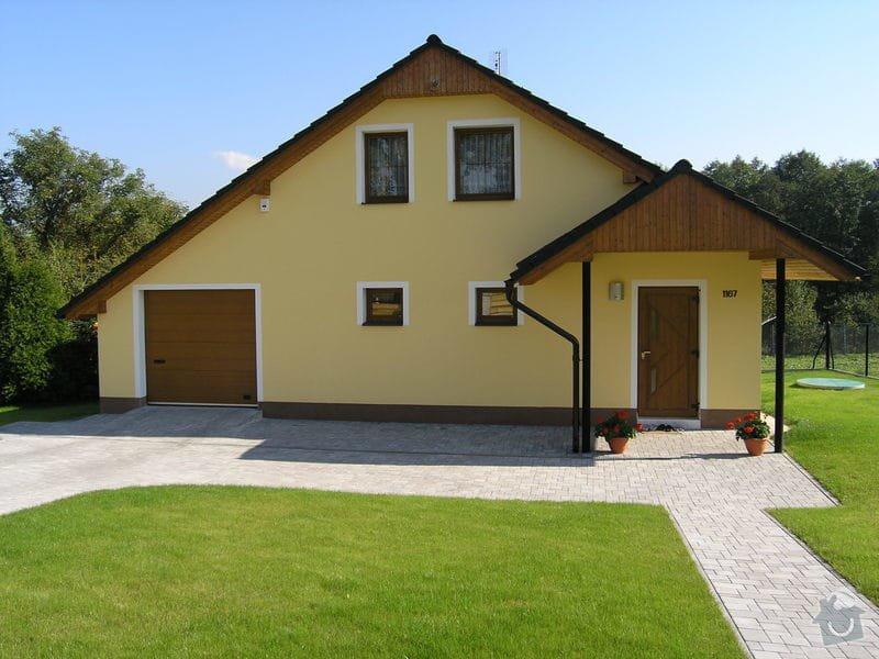 Novou omítku rodinného domku: PA100002