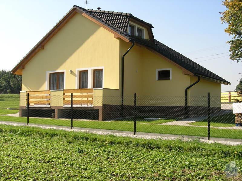 Novou omítku rodinného domku: PA100005