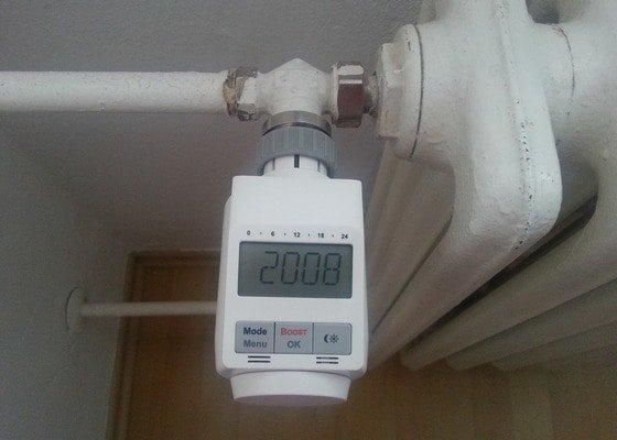 Výměna termostatické hlavice (2x)