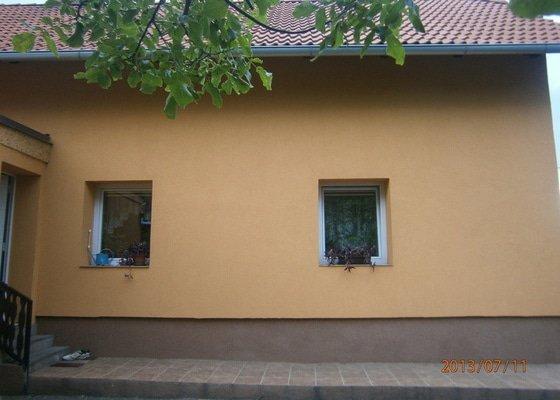 Výměna oken a zateplená fasáda