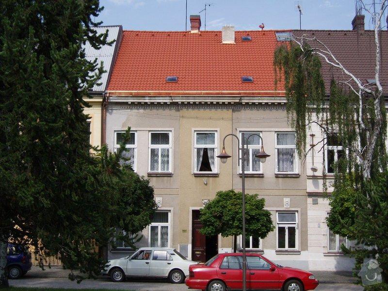 Oprava fasády domu: Cp._43_s_novou_strechou