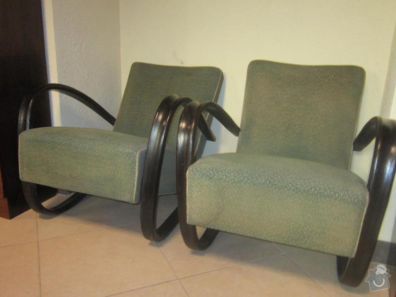 Renovace křesla p.Halabala: 3390955257_1