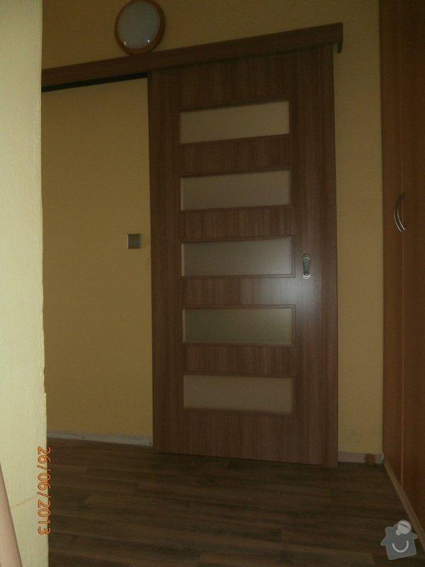 Zhotovení 1ks interiérových posuvných dveří včetně zárubně: Posuv4