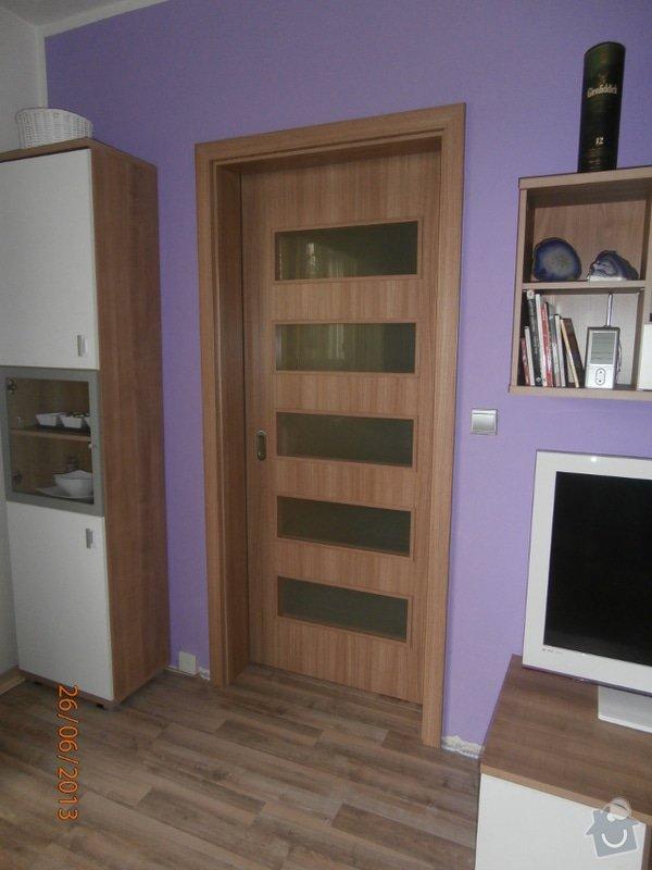 Zhotovení 1ks interiérových posuvných dveří včetně zárubně: Posuv5