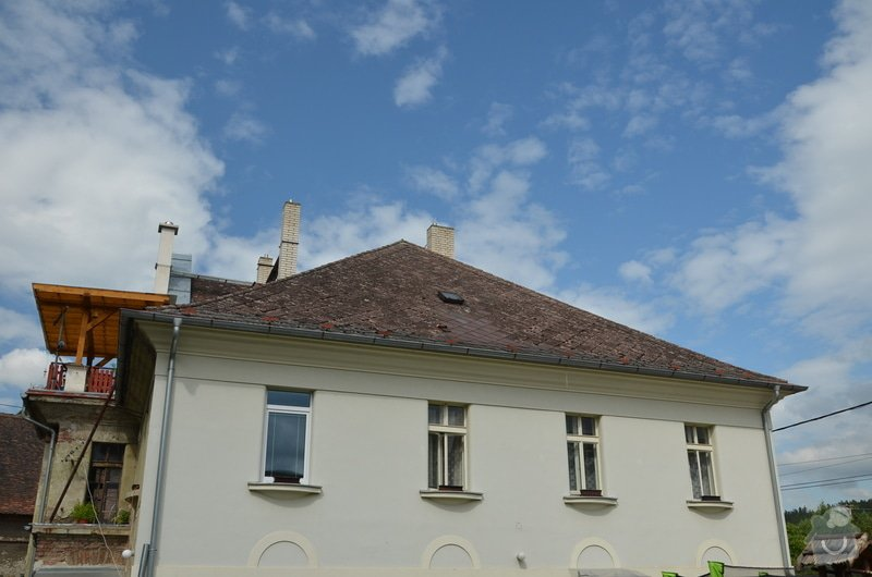 Střecha - Rekonstrukce nebo oprava střechy staré vily: DSC_0707