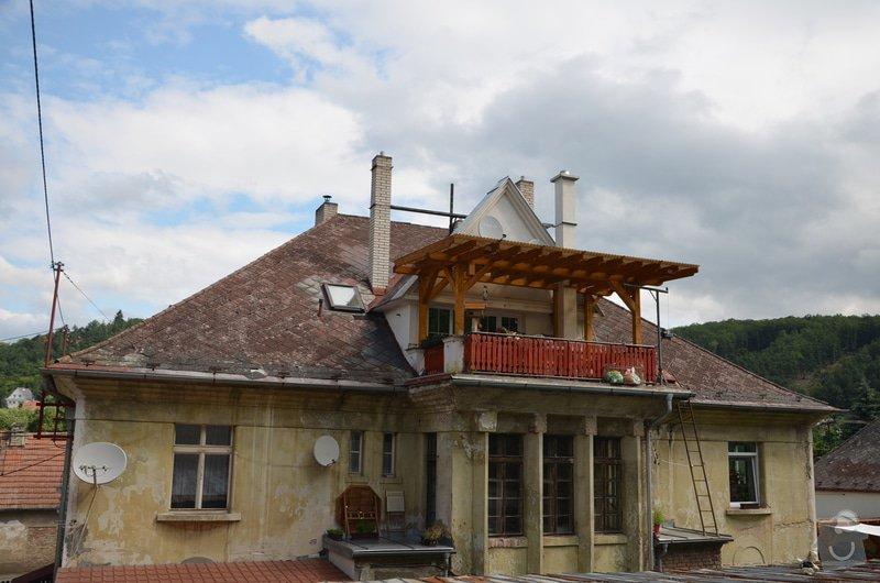 Střecha - Rekonstrukce nebo oprava střechy staré vily: DSC_0709
