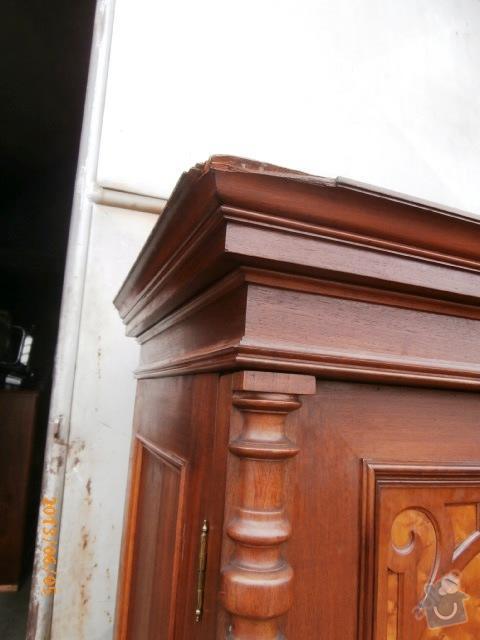 Renovace staré secesní skříně: 3334832840_5