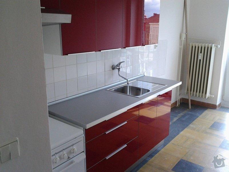 Instalace kuchyně IKEA: Odpoledne