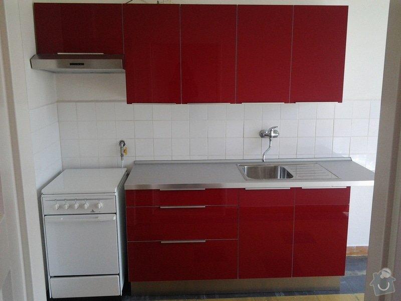 Instalace kuchyně IKEA: Hotovo