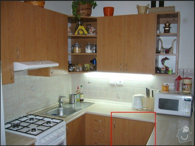 Zapojeni mycky na nadobi + uprava kuchynske linky: kuchyn2