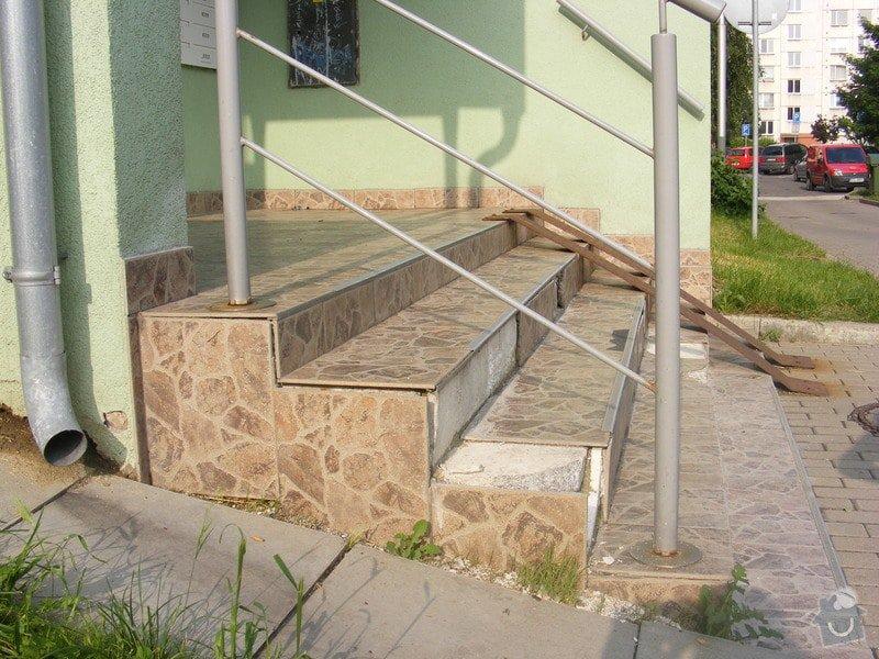 Rekonstrukce venkovních schodů: DSCF3843