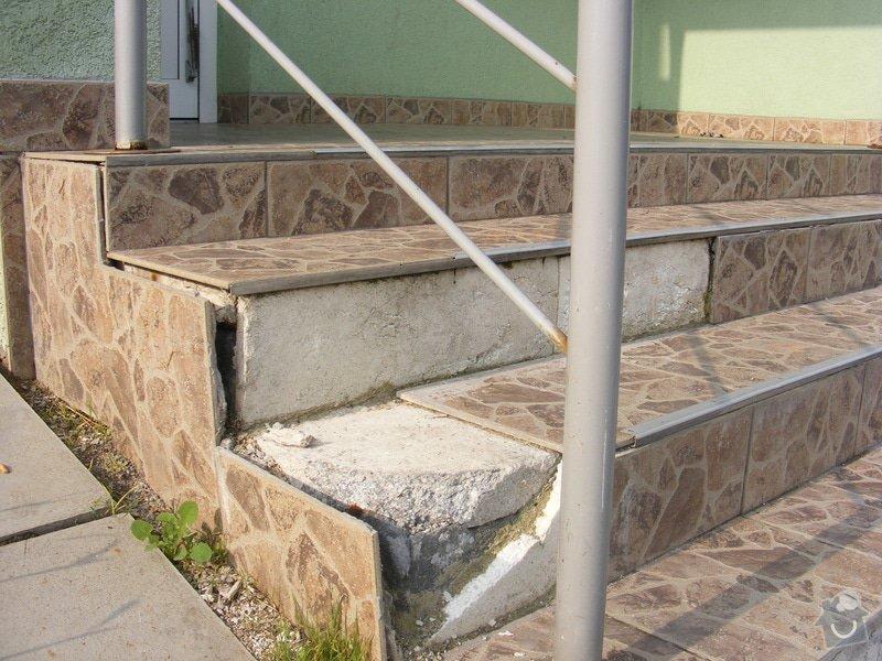 Rekonstrukce venkovních schodů: DSCF3844