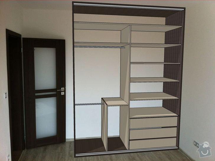 Vestavná skřín do ložnice: V_pokoji