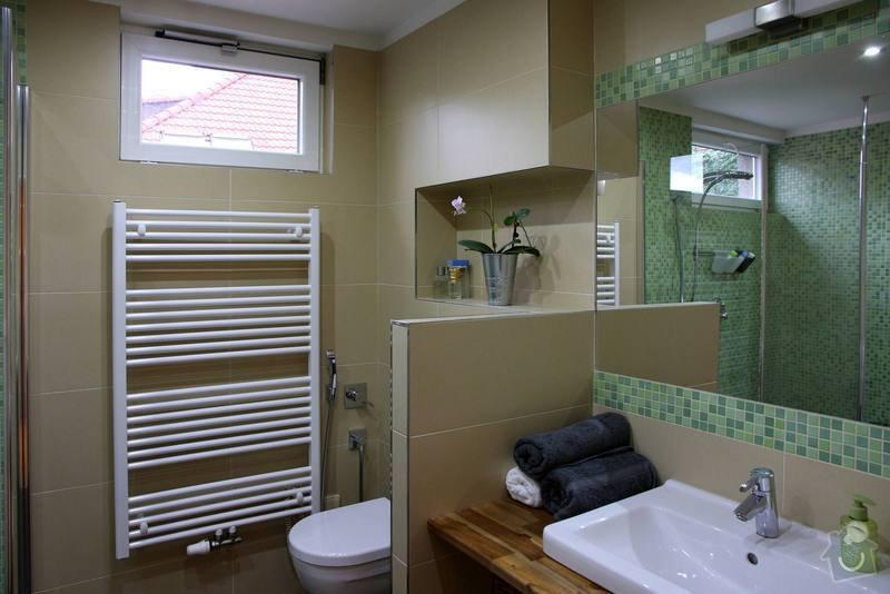 Koupelna s atypickým sprchovým koutem: 2