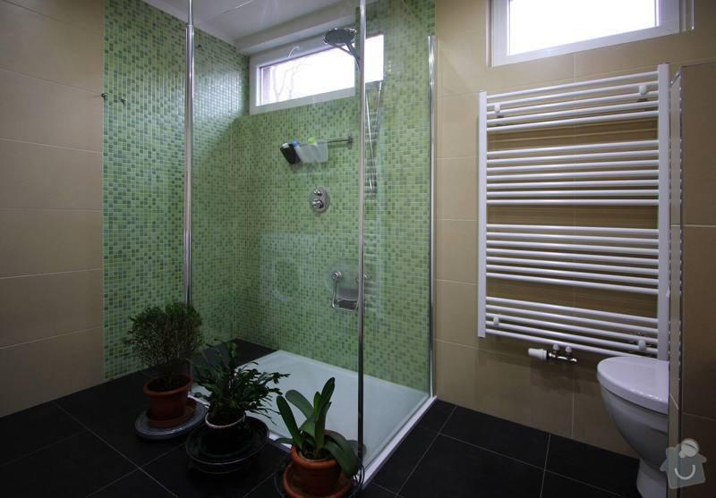Koupelna s atypickým sprchovým koutem: 4