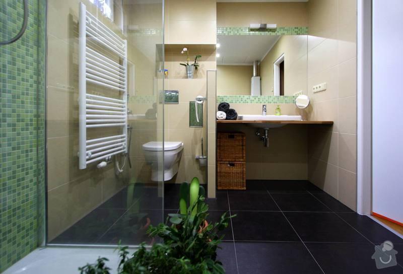 Koupelna s atypickým sprchovým koutem: 5