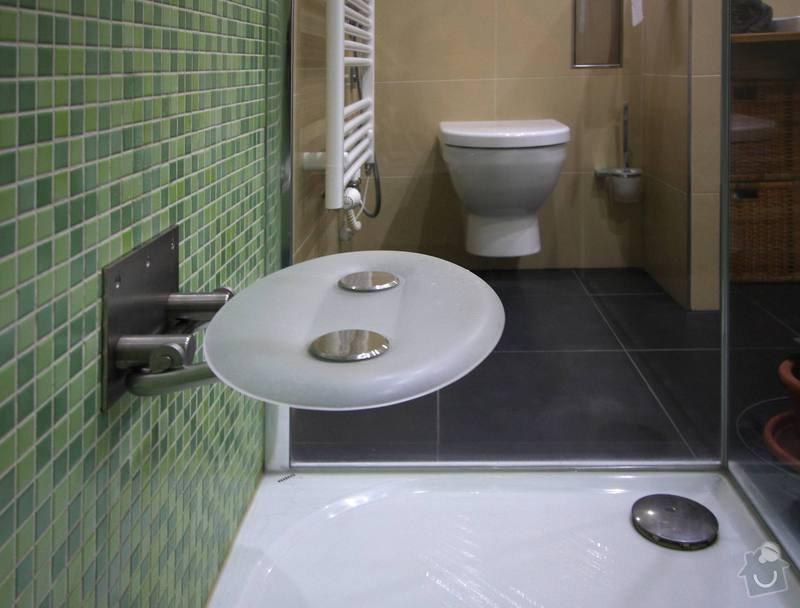 Koupelna s atypickým sprchovým koutem: 8