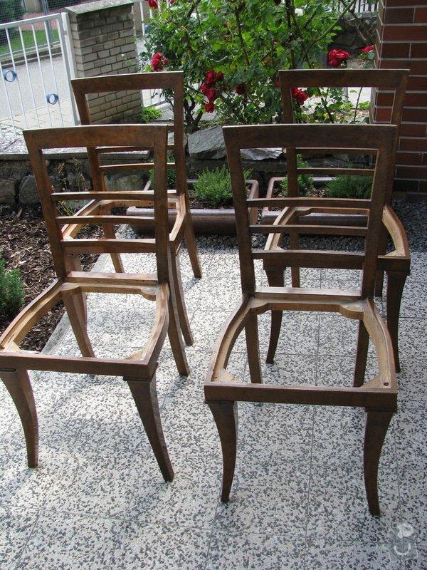 Zrestaurování 4 jídelních židlí: IMG_4258