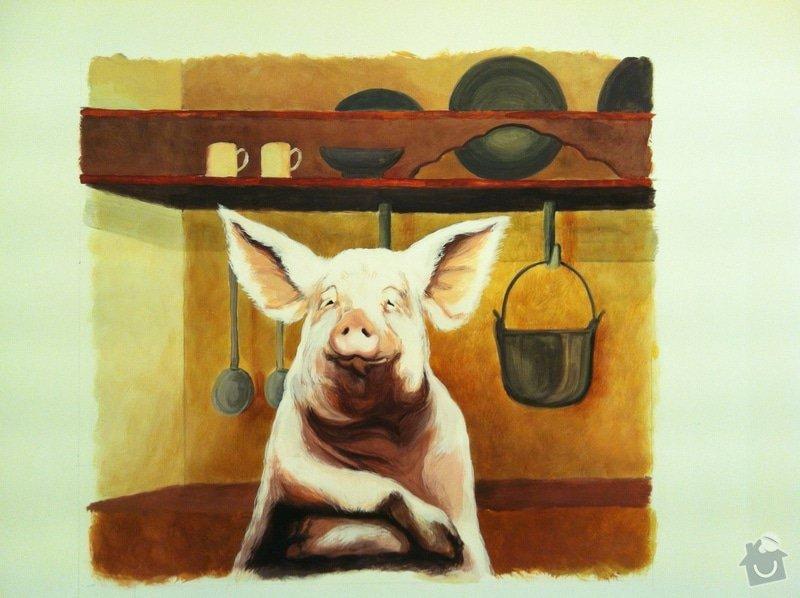 Nástěnná malba v restauraci.: IMG_2211