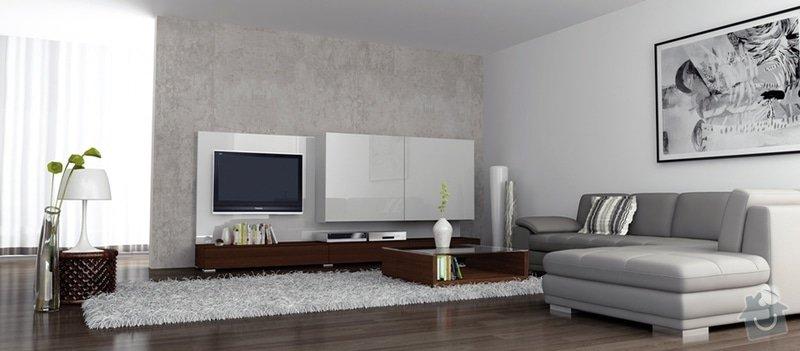 Imitace betonu stěna interiéru: OBVAC-_2