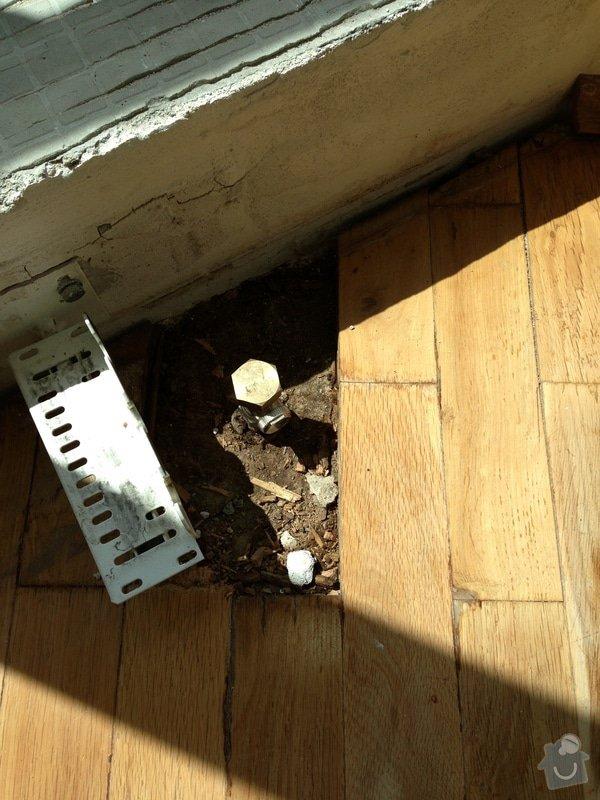 Údržba dřevěných parket v pokoji: F2013__001