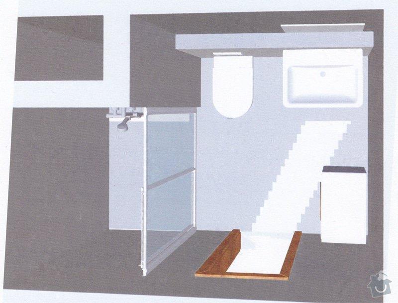 Rekonstrukce bytového jádra: koupelna