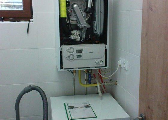 Vaillant VU186+VIH120 uvedení kondenzačního kotle do provozu