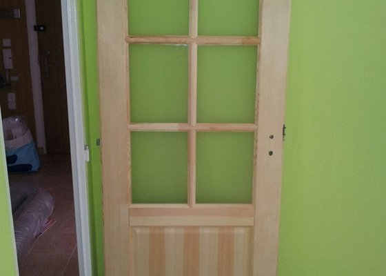 Podříznutí dřevěných dveří