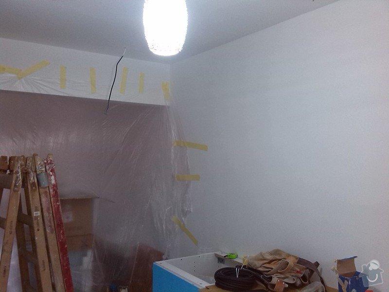 Montáž SDK příčky pro zapuštění kuchyňské skříně: IMG_20140114_123225