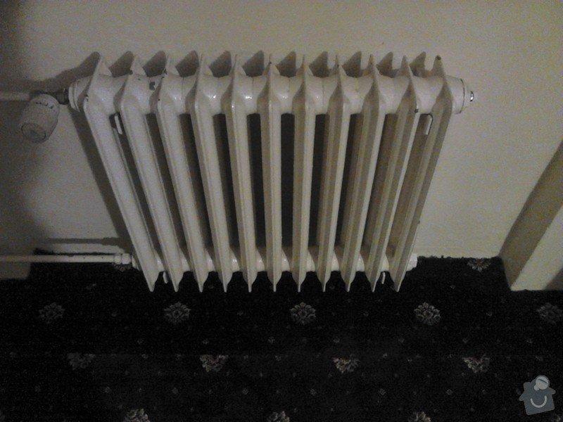 Výměna radiátorů, odpojení plynu: DSC_0125