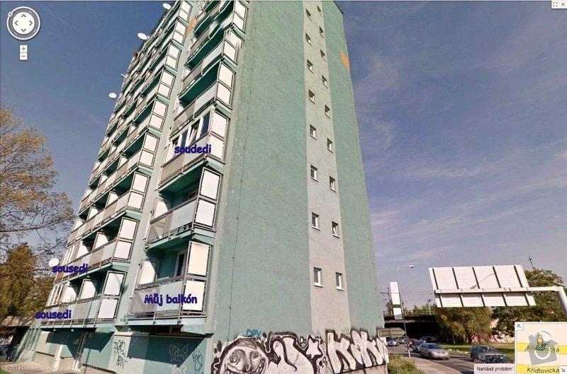 Lodžie-zasklení balkónu: Balkony_Kridlovicka