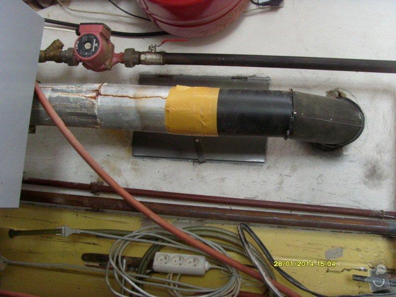 Vyvložkování komínu bez frézování.: S73R0039