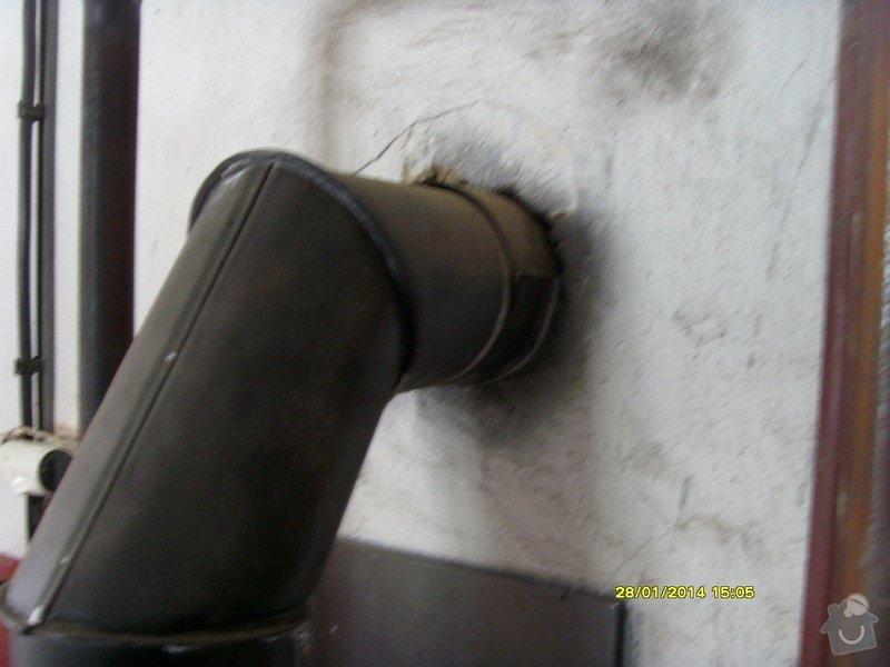Vyvložkování komínu bez frézování.: S73R0040