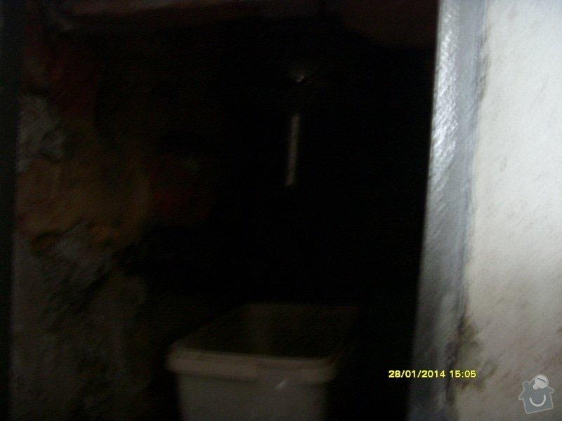 Vyvložkování komínu bez frézování.: S73R0041